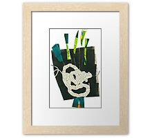 collage_Learn Framed Print