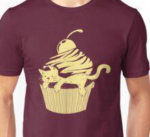 CatCake ou CuteCat - Burgundy Unisex T-Shirt