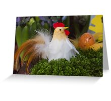 Easter hen Greeting Card
