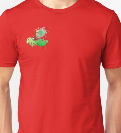 Holly Leaf (With berries) [Coloured] Unisex T-Shirt