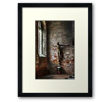 Father Forgive Framed Print
