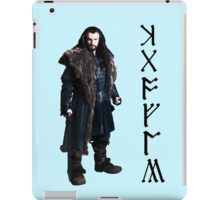 Thorin in Runes iPad Case/Skin