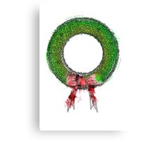Wreath [Coloured] Canvas Print