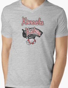 Kenosha Kickers Mens V-Neck T-Shirt