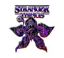 Stranger Things Photographic Print
