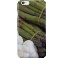 asparagus and onions iPhone Case/Skin