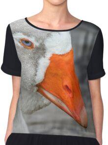 Greylag Goose Chiffon Top