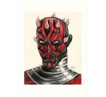 SW Portraits - Maul Art Print