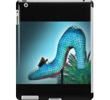 Blue High Heel iPad Case/Skin