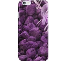 lavander stones iPhone Case/Skin