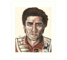 SW Portraits - Poe Dameron Art Print