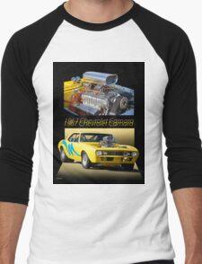 1967 Camaro 'Blower Motor' I Men's Baseball ¾ T-Shirt