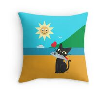 GET! Throw Pillow
