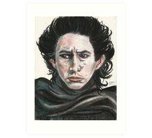 SW Portraits - Kylo Ren Art Print