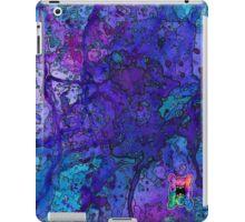 Blue Splatagram iPad Case/Skin