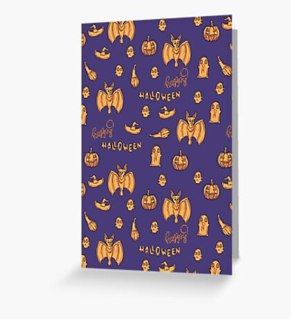 Happy Halloween lovely pumpkin! Greeting Card
