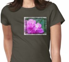 Pink Squared. Womens Fitted T-Shirt