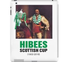 Hibs scottish Cup winners 2016 iPad Case/Skin