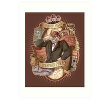 Gravity Falls - Stan the Man Art Print