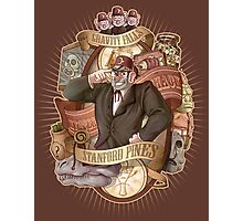 Gravity Falls - Stan the Man Photographic Print