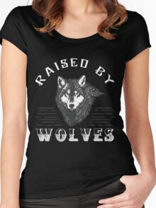 Raised By Wolves Women's Fitted Scoop T-Shirt