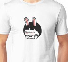 KakaoTalk Friend - The Hard Life by Hozo (Evil Face) Unisex T-Shirt