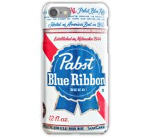 Vintage PBR - Pabst Beer iPhone Case/Skin