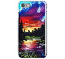 lavendar lake iPhone Case/Skin