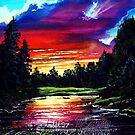 lavendar lake by LoreLeft27