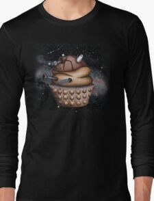 Exterminate All Cupcakes Long Sleeve T-Shirt