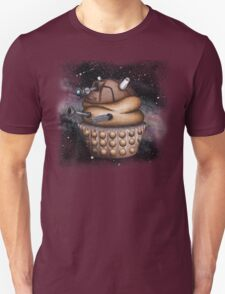 Exterminate All Cupcakes Unisex T-Shirt