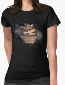 Exterminate All Cupcakes Womens Fitted T-Shirt