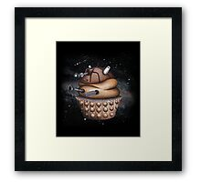 Exterminate All Cupcakes Framed Print