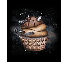 Exterminate All Cupcakes Photographic Print