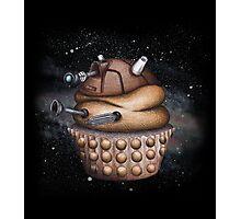 Exterminate All Cupcakes Photographic Print
