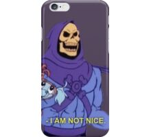 I am not nice iPhone Case/Skin