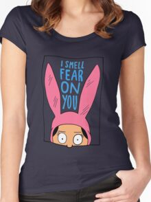 I Smell Fear on You Women's Fitted Scoop T-Shirt