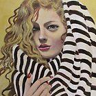 Lady in a beach towel by Dian Bernardo