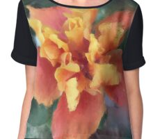 Hot Summer Bloom  Chiffon Top