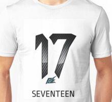 naquash design seventeen with logo Unisex T-Shirt