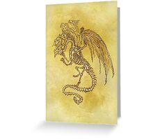 5x Dragon Greeting Card