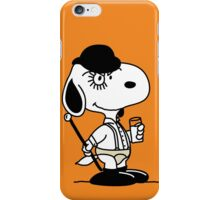 Snoopy DeLarge (A Clockwork Beagle) iPhone Case/Skin