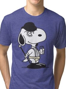 Snoopy DeLarge (A Clockwork Beagle) Tri-blend T-Shirt