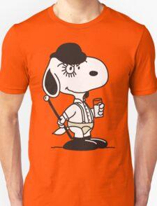 Snoopy DeLarge (A Clockwork Beagle) Unisex T-Shirt