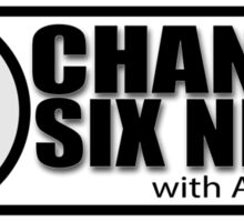 Channel 6 News with April O'Neil Sticker