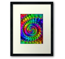 All About the Color Bass Framed Print