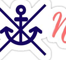 Nautica - Get nauti Sticker