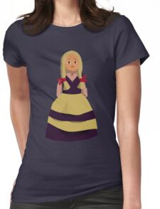Princess Doll Girl Womens Fitted T-Shirt