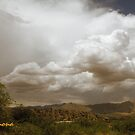 White Clouds over the Mountains by Winona Sharp