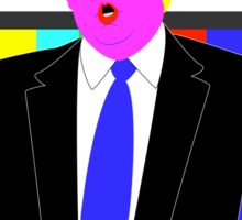 Trump l'oeil Sticker